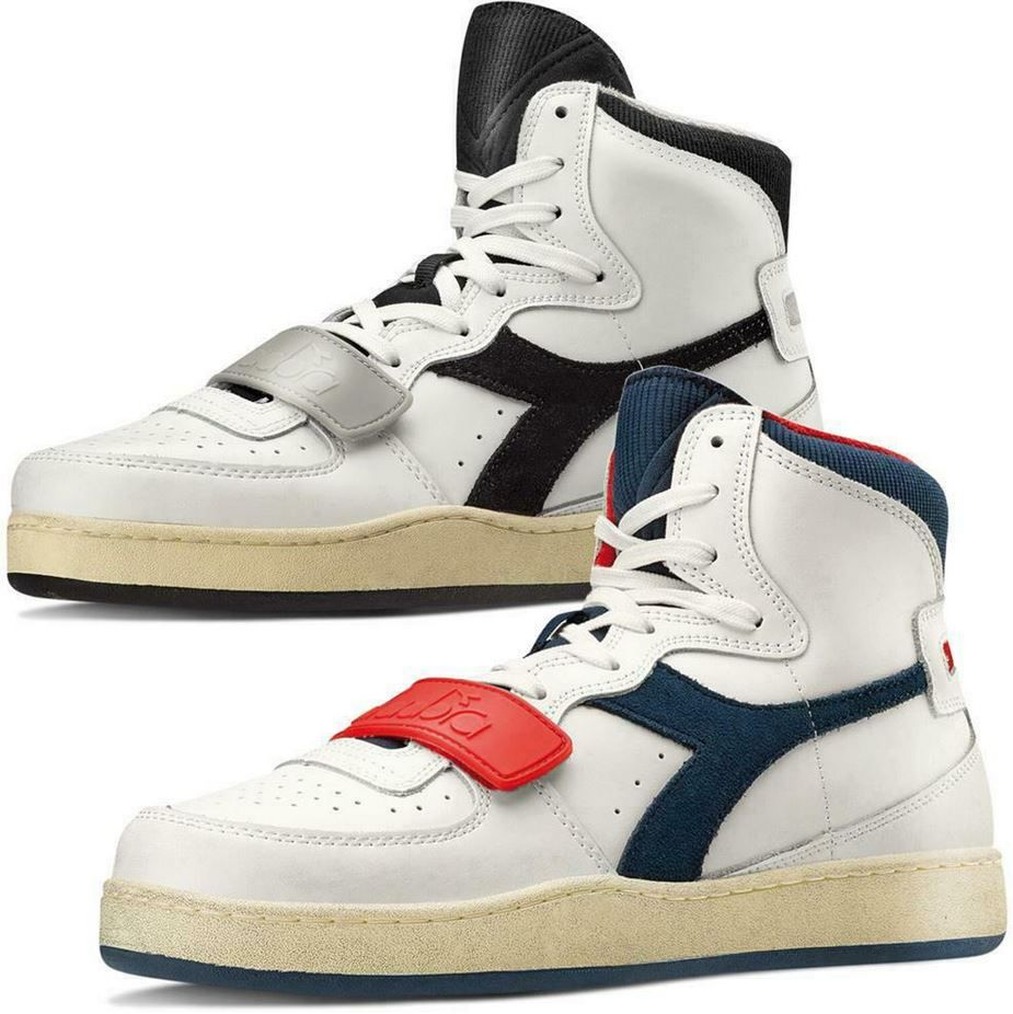 Diadora MI Basket Used Herren Hi Top Leder Sneaker für 42,50€ (statt 50€)