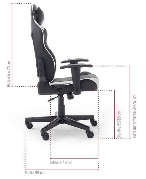 Robas Lund DX Racer Sport OK 132 Gaming Stuhl für 113,54€ (statt 210€)