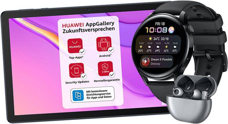 HUAWEI Week bei Amazon: Smartwatches, Laptops & Tablets  z.B. Huawei AH100 Körperfettwaage für 14,99€ (statt 23€)