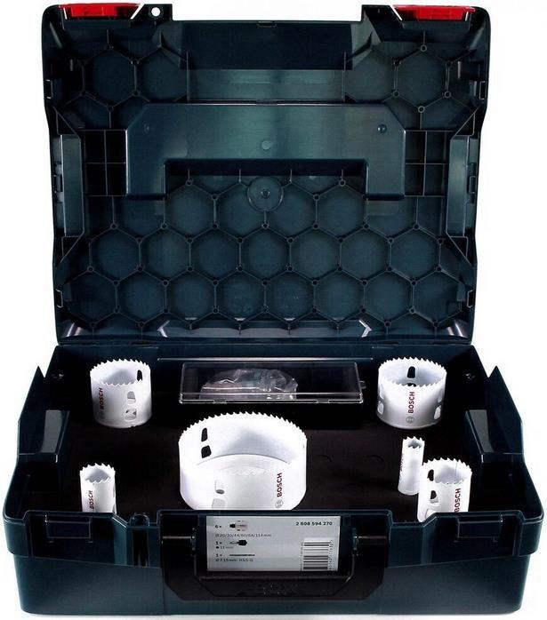 Bosch 8 teiliges Lochsägen Set für Holz & Metall   Durchmesser: 20   114 mm für 93,76€ (statt 104€)