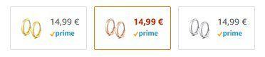 Anna Nucci Ohrringe aus 925er Sterling Silber für 10,99€ (statt 15€) – Prime