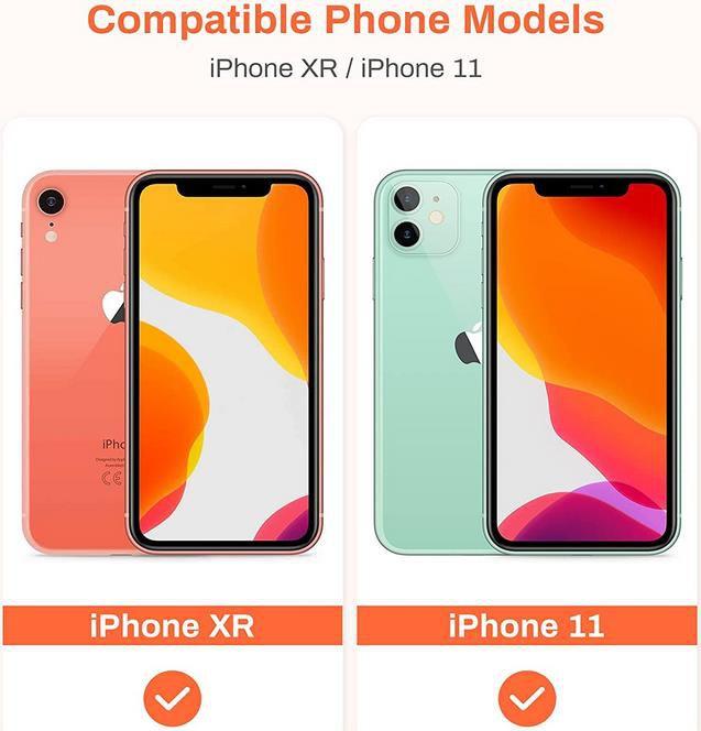 Eono Panzerglas Schutzfolie für iPhone 11 und iPhone XR   3er Pack für 4,49€ (statt 9€)