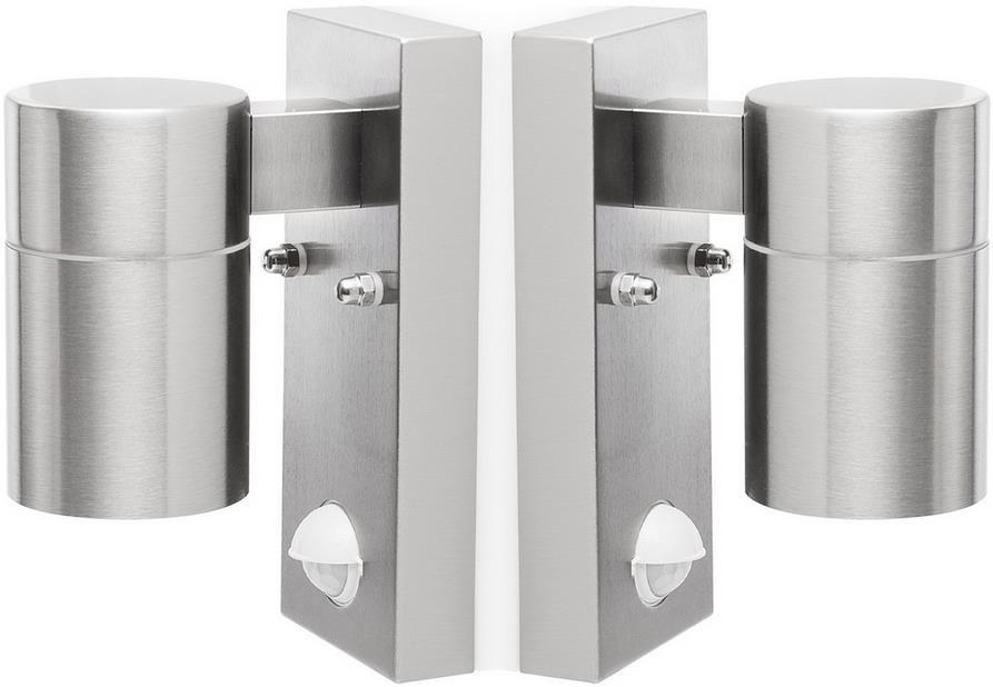 2x Smartwares 5000.255L Außenleuchten mit Bewegungssensor für 20,90€ (statt 41€)