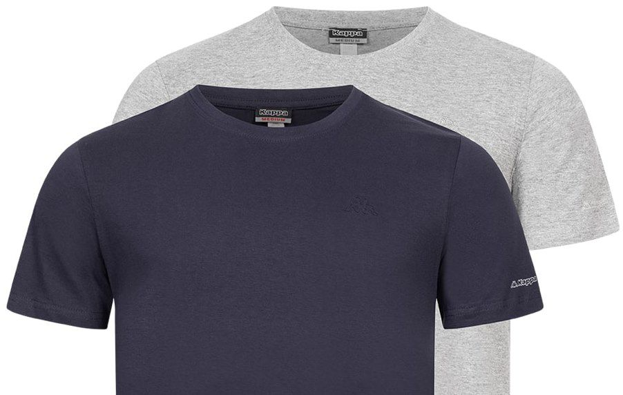 2er Pack: Kappa Tobias Unterhemd (vers. Farben) für je 11,94€ (statt 18€)