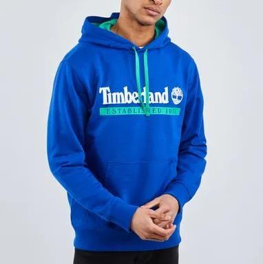 Timberland Established 1973 Hoodie in Blau für 39,99€ (statt 63€)