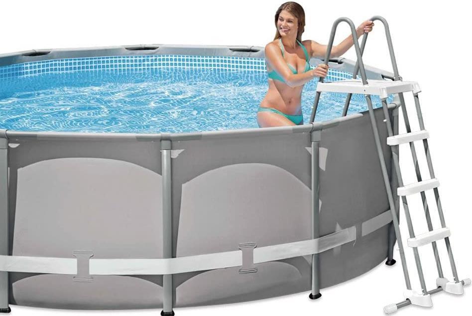 Intex 28076 Sicherheitsleiter für Pools von 122 cm Höhe für 34,22€ (statt 60€)
