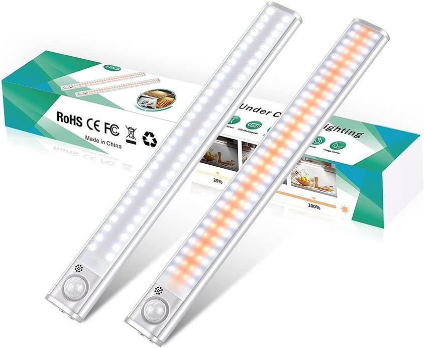 Ceshu LED Schrankbeleuchtung mit 120 LEDs und Bewegunsmelder für 19,79€ (statt 33€)