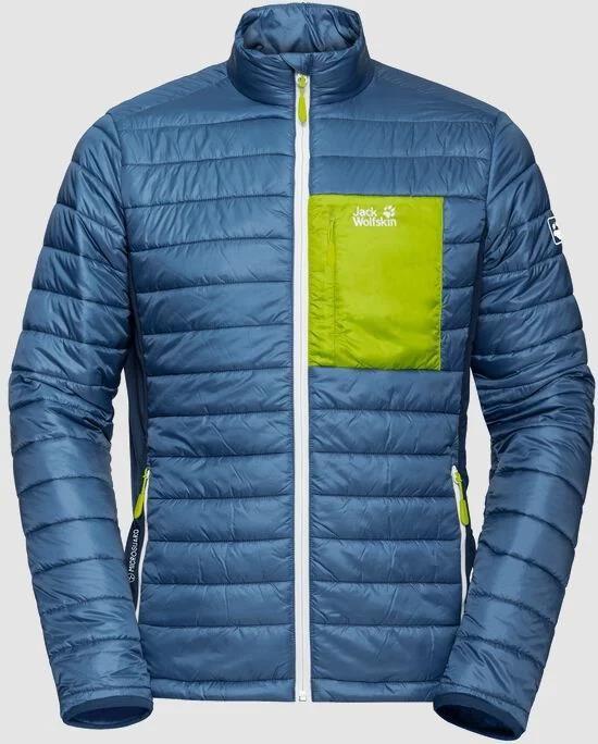 Jack Wolfskin   Routeburn Jacket M in Blau/Grün für 67,90€ (statt 83€)