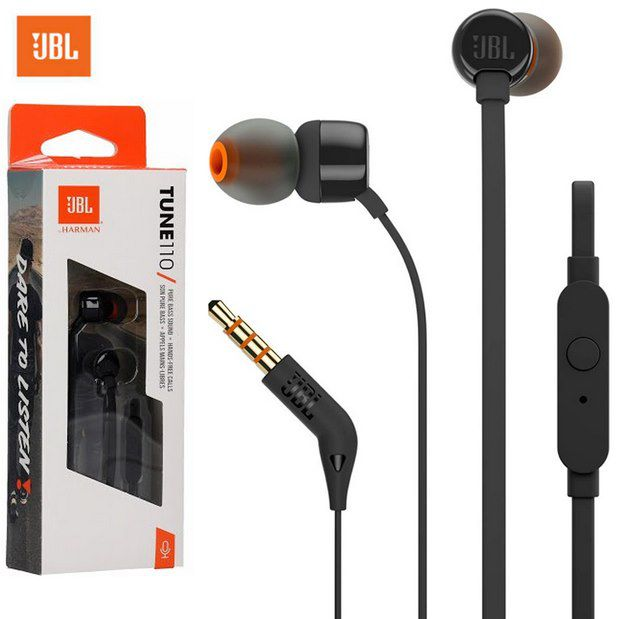 JBL T110 In Ear Headset Kopfhörer für 9,90€ (statt 14€)