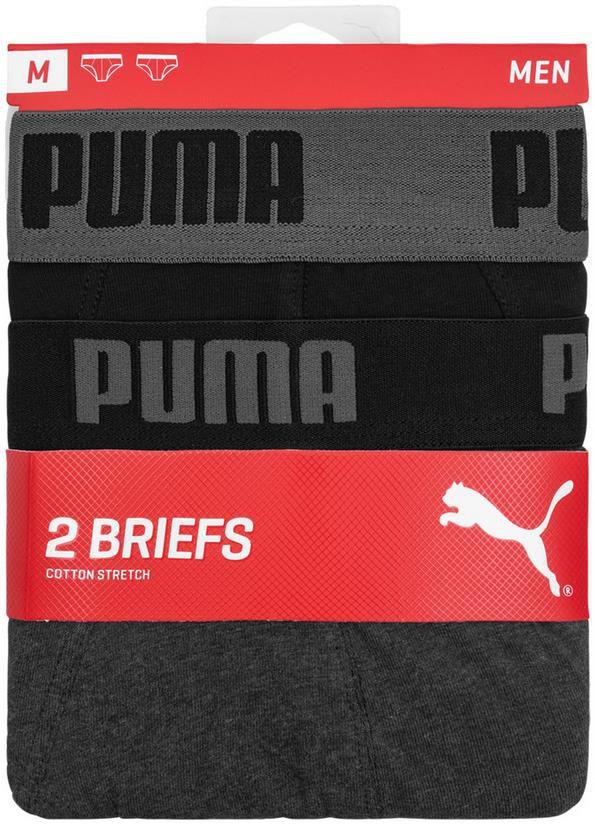 PUMA Basic Brief Herren Slip 6er Pack für 28,19€ (statt 35€)