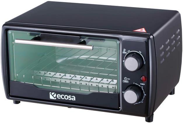 Ecosa EO 500 Minibackofen   10 Liter und 1000 Watt für 24,99€ (statt 33€)