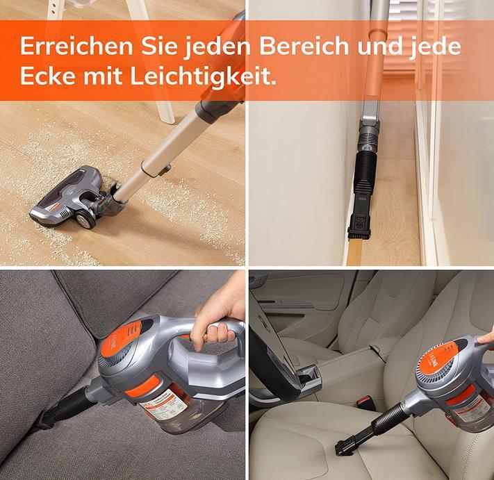 ILIFE EASINE H55 Akku Staubsauger mit 10500Pa Saugkraft für 88,89€ (statt 129€)