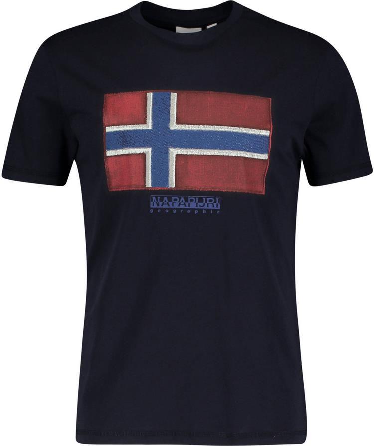 Napapijri Sirol T Shirt in Marine für 18,71€ (statt 23€)