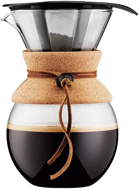 Bodum Pour Over   1 Liter Kaffebereiter mit Permanentfilter für 29,99€ (statt 40€)