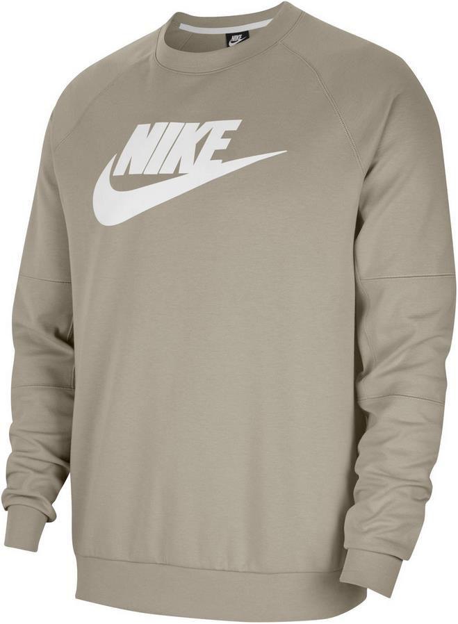 Nike Fleece Crew CU4473 Sweatshirt in Stein Weiß für 27,21€ (statt 41€)