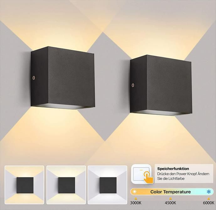 Imoli Led Innen Wandleuchte mit 3 Farbtemperaturen 12W für 14,99€ (statt 30€)