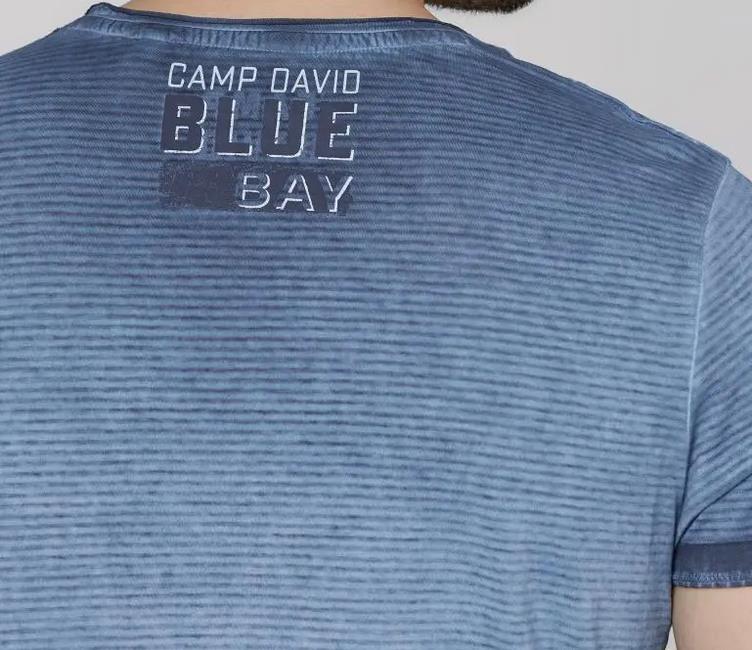 Camp David T Shirt im Used Look und drei verschiedenen Farben für 22,93€ (statt 40€)