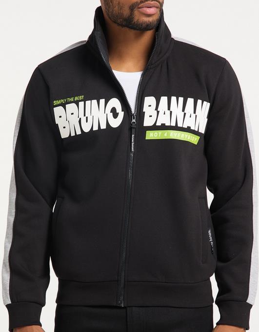 Bruno Banani   Sweatjacke mit Brustprint für 49,48€ (statt 55€)