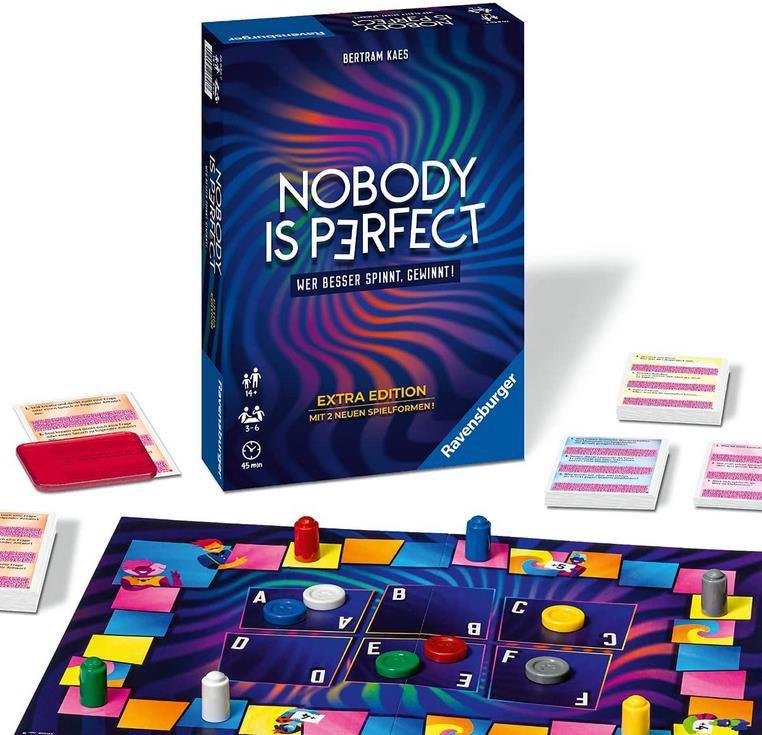 Ravensburger 26846 – Nobody is perfect Extra Edition – Kommunikatives Kartenspiel für 11,60€ (statt 18€) – Prime