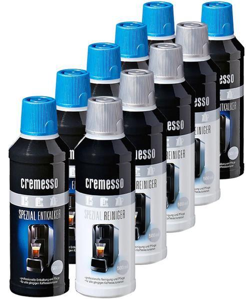 10er Pack Cremesso Entkalker & Reiniger je 500 ml für 28,89€ (statt 40€)