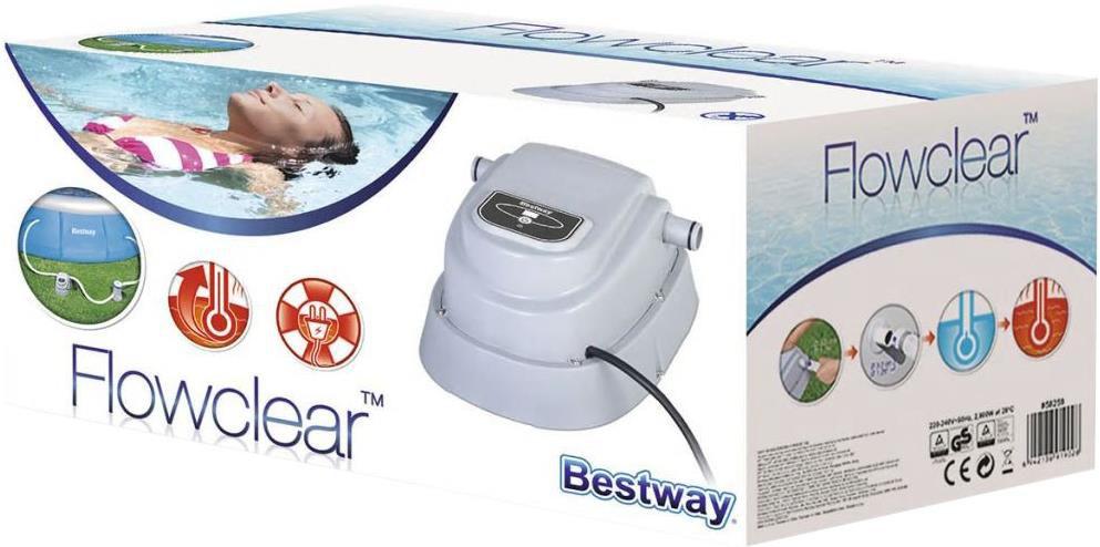 Bestway 58259 Elektrische Poolheizung für 131,18€ (statt 192€)