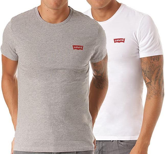 Levis   2er Pack   Crewneck Graphic   T Shirt für Herren für 17,85€ (statt 28€)