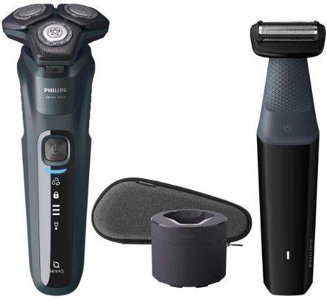 Philips Series S5584/57 elektrischer Nass  & Trockenrasierer für 99€ (statt 141€) +gratis Nasentrimmer