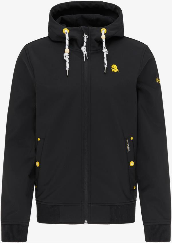 Schmuddelwedda Übergangsjacke in gelb / schwarz für 102,37€ (statt 128€)