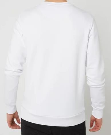 Jack & Jones Sweatshirt   Jjcircle Flock in Weiß für 19,99€ (statt 32€)