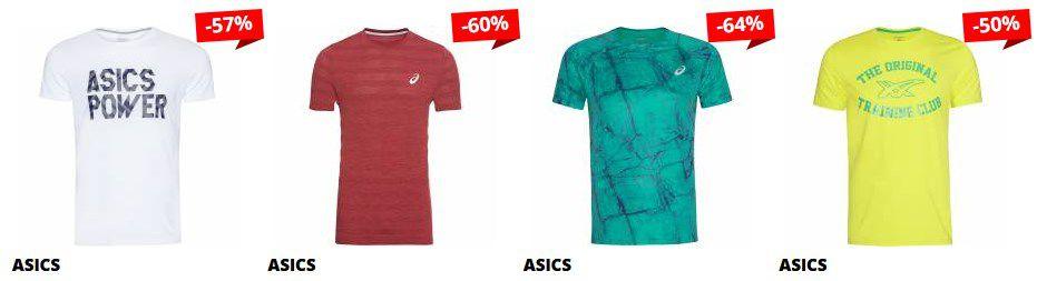 Asics Sale mit bis  84% Rabatt bei SportSpar   Asics DIR Mujer Damen Trainings Shirt für 7,99€ (statt 20€)