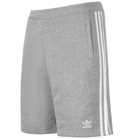 2x adidas 3 Stripes Originals Adicolor Shorts in Schwarz oder Grau für 39,98€ (statt 55€)