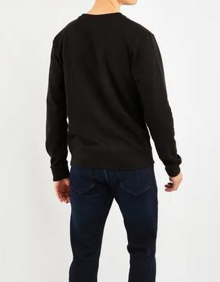 Helly Hansen Yu Crew   Herrensweatshirt in Schwarz für 23,99€ (statt 45€)