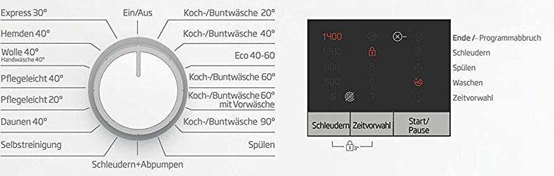 BEKO Waschmaschine WML61423N (6kg) für 248,95€ (statt 319€)