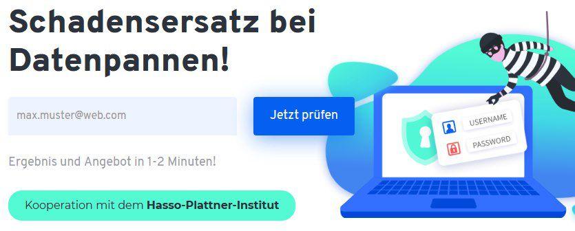 RightNow: bis zu 21€ Schadensersatz pro Datenleck   Seid ihr auch betroffen ?