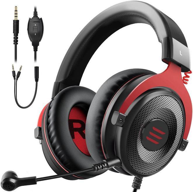 EKSA E900 Gaming Kopfhörer mit Noise Cancelling Mikrofon & Stereo Surround Sound für 16,99€ (statt 34€)