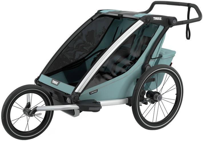 Thule Fahrradanhänger / Kinderwagen Chariot Cross 2 in Hellblau für 655,45€ (statt 759€)