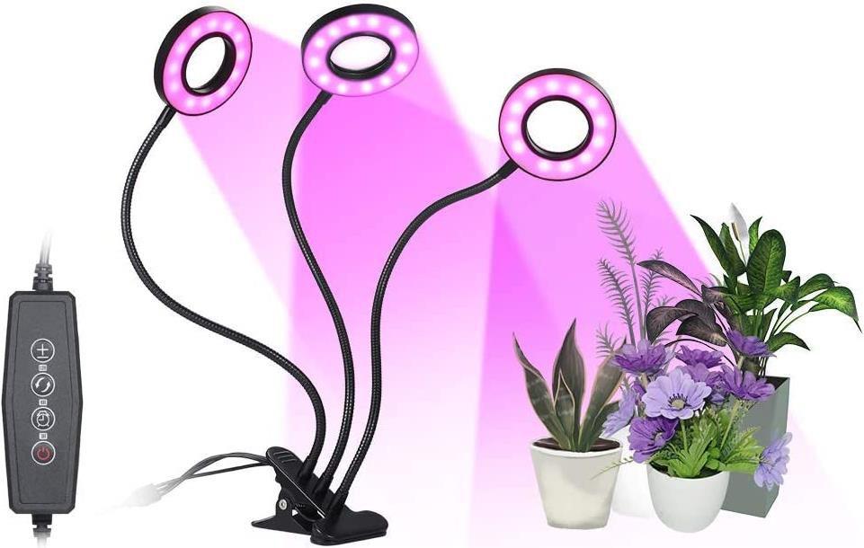 Tomshine 54 LED 27W   Pflanzen Aufzuchtlampe für 10,62€ (statt 32€)