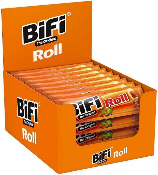 BiFi Roll – 24er Pack (24 x 45 g)   Salami im Teigmantel ab 10,07€ (statt 24€)   Sparabo