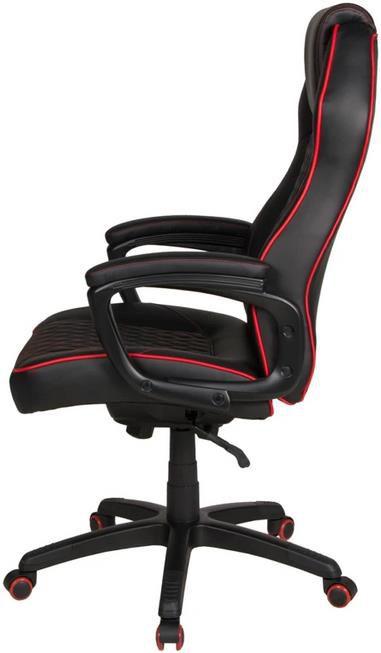 Maik XXL Kunstleder Chefsessel in schwarz/rot für 143,99€ (statt 180€)   Filialabholung