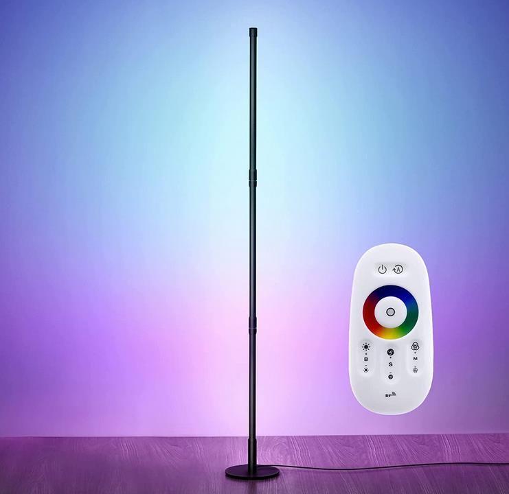 SELECTID LED RGB Stehlampe Dimmbar mit Fernbedienung für 34,99€ (statt 70€)