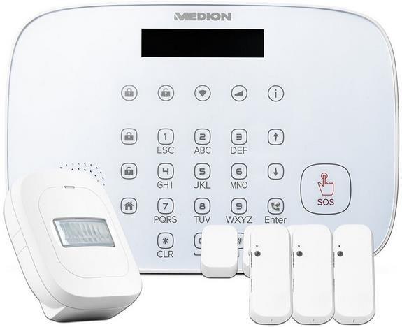 Medion P85773 Smart Home Security Set für 28€ (statt 70€)