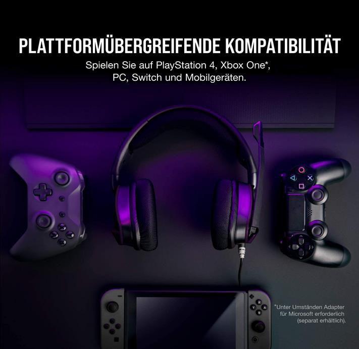 Corsair VOID ELITE 7.1 Surround Gaming Headset für 49,99€ (statt 65€)