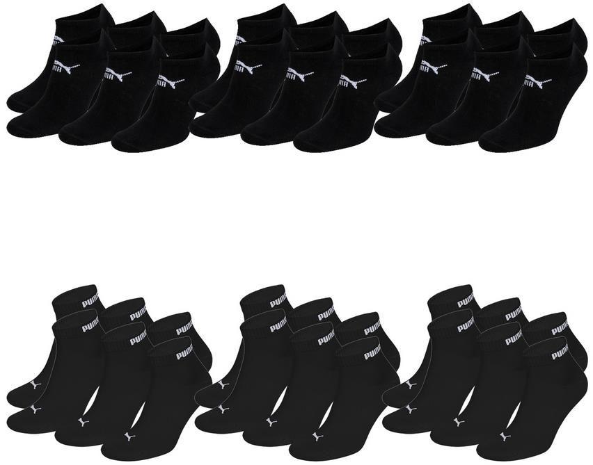18 Paar Puma Socken in verschiedenen Farben für 30€ (statt 34€)