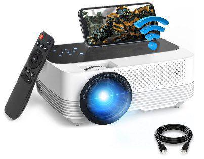720p Mini LED Beamer mit FHD Support für 79,19€ (statt 120€)