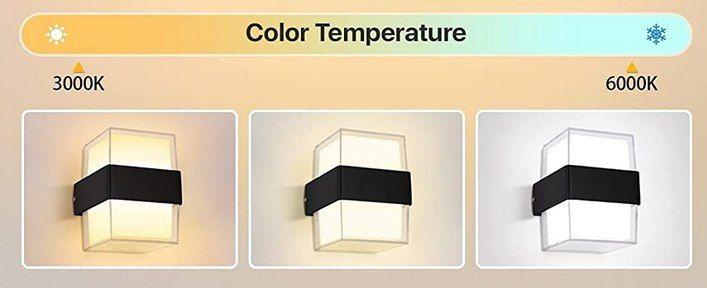 Imoli Wandlampe 12W mit 3 Farben mit Memory Funktion für 13,99€ (statt 28€)   Prime