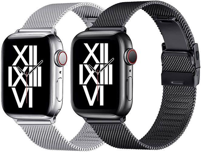 50% Rabatt auf AFEKYY Edelstahlarmbänder für Apple Watch ab 6,49€ (statt 13€) – Prime