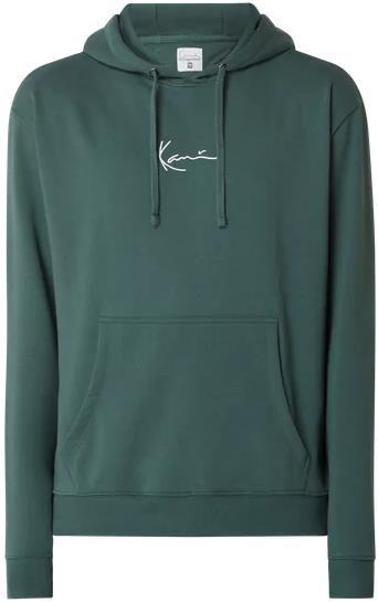 Karl Kani Hoodie in Grün mit Känguru Tasche für 29,99€ (statt 40€)