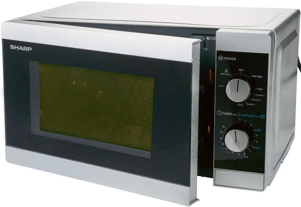 Sharp YC MG01ES Mikrowelle mit 20l Volumen ab 59,99€ (statt 70€)