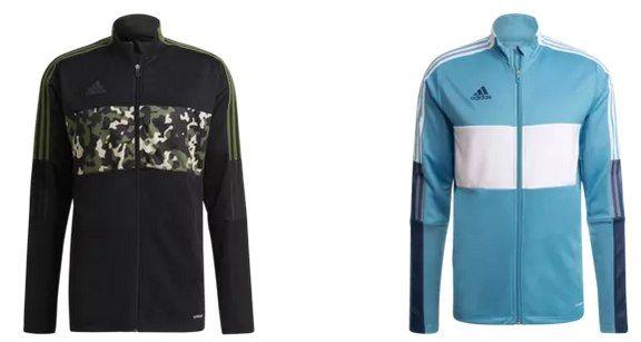 adidas Trainingsjacken Tiro AOP, Tiro Word R & Tiro CU für je 29,95€ (statt 40€)