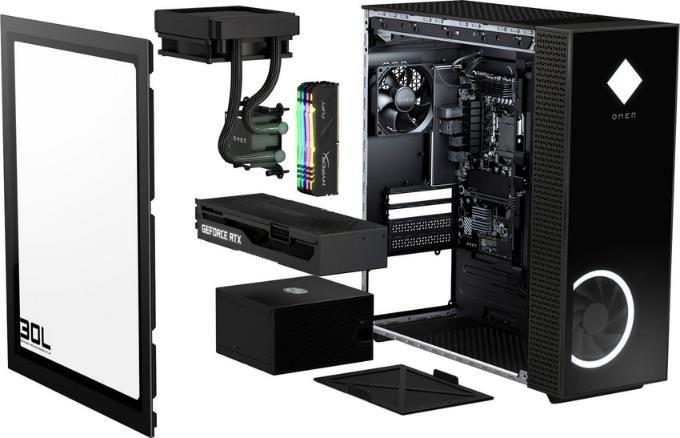 OMEN GT13 0019ng Gaming PC mit i7 10700K, RTX 3080, 16 GB RAM, 1TB HDD, 512GB SSD für 1.901,95€ (statt 2.499€)